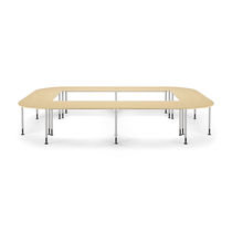 Classroom table / contemporary / MDF / beech