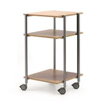 Office service trolley / metal / for offices / commercial