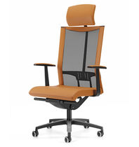 Executive armchair / contemporary / on casters / with armrests