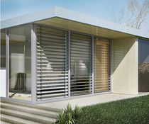 Venetian blinds / aluminum / outdoor / sun protection