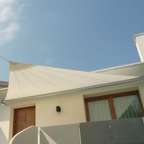 Triangular shade sail
