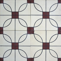 Indoor encaustic cement tile / outdoor / floor / wall