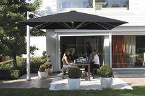 Offset patio umbrella / commercial / aluminum
