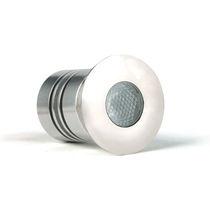 Recessed floor light fixture / RGBW LED / round / outdoor