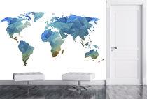 Vinyl wallcovering / residential / 3D effect