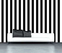 Contemporary wallpaper / nonwoven fabric / patterned / striped