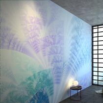 Contemporary wallpaper / vinyl / nature pattern / printed