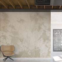 Modern wallpaper / vinyl / floral / non-woven