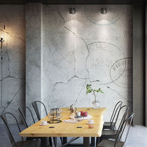 Modern wallpaper / nonwoven fabric / vinyl / urban motif