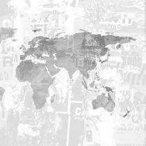 Modern wallpaper / nonwoven fabric / vinyl / map