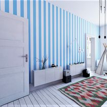 Modern wallpaper / nonwoven fabric / vinyl / striped