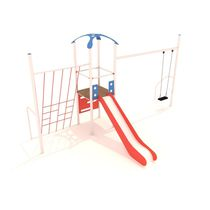 HDPE play structure / metal / for playgrounds