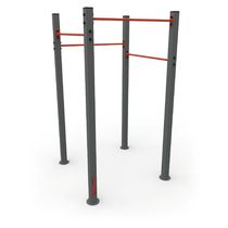 Outdoor fitness bar