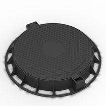 Cast iron manhole cover / round