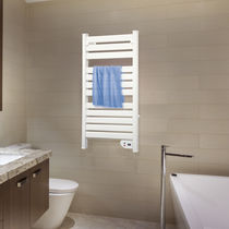 Electric towel radiator / aluminum / contemporary / bathroom