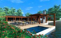 Prefab building / for hotels / for restaurants / wooden