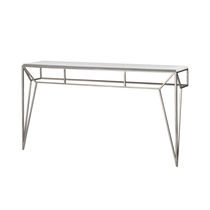 Sideboard table / traditional / glass / iron