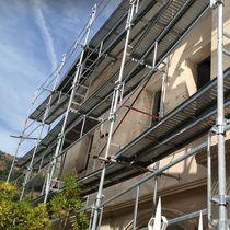 Galvanized steel scaffolding / aluminum / high