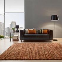 Contemporary rug / geometric pattern / striped / polypropylene