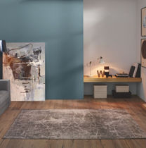 Contemporary rug / patterned / polypropylene / rectangular