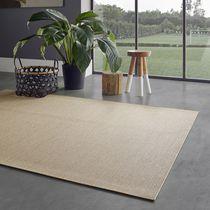 Exterior rug / contemporary / plain / polyester