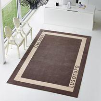 Contemporary rug / geometric pattern / rectangular / custom
