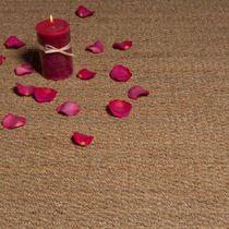 Woven rug / contemporary / plain / natural fiber