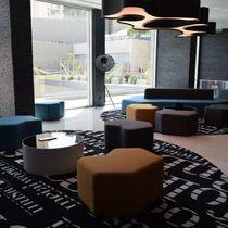 Original design rug / patterned / round / custom