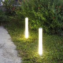 Urban bollard light / garden / contemporary / aluminum
