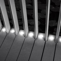 Recessed wall spotlight / recessed floor / bathroom / for wet rooms