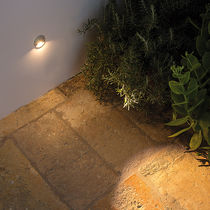 Recessed wall spotlight / indoor / outdoor / LED