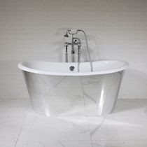 Freestanding bathtub / oval / round / cast iron