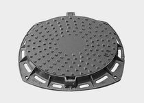 Cast iron manhole cover / round