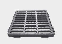 Cast iron drain grate / for public areas