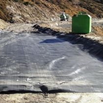 Woven geotextile / polypropylene / protection / for civil engineering