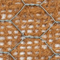 Reinforcement geogrid / for erosion control / for civil engineering / composite