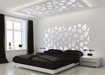 Decorative panel / MDF / composite / stainless steel
