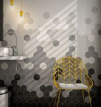 Indoor hexagonal tile / wall