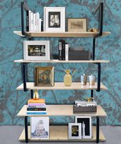 Contemporary shelf / steel / commercial