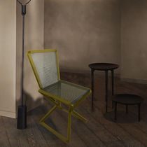 Contemporary visitor chair / metal / for public buildings