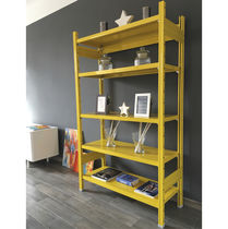 Contemporary shelf / metal / commercial