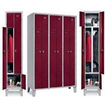 Metal locker / for public buildings / for sports facilities / for offices