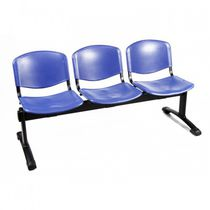 Metal beam chairs / 3-seater / 2-seater / indoor