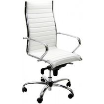 Contemporary office chair / on casters / mesh