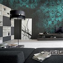 Contemporary wallpaper / fabric / vinyl / damask