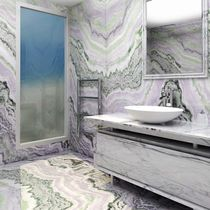 Indoor tile / wall / for floors / marble