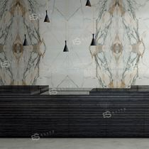 Indoor tile / wall / marble / patterned
