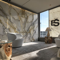 Marble decorative panel / wall-mounted / backlit / printed