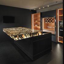 Original design countertop / onyx / kitchen