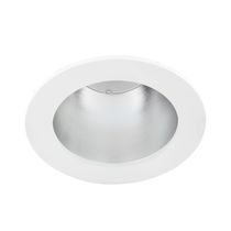 Recessed downlight / LED / round / steel
